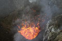 Magma bubble (hshdude) Tags: vent volcano lava crater bubble eruption vanuatu tanna yasur