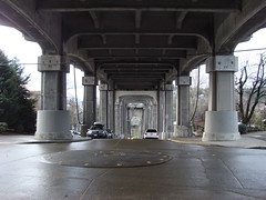 Fremont Troll's point of view (iagoarchangel) Tags: seattle bridge washington troll aurorabridge fremonttroll