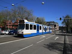 GVBA tram 905 Amsterdam Beethovenstraat (Arthur-A) Tags: netherlands amsterdam nederland tram bn streetcar tramway strassenbahn electrico tranvia gvb tramvia trapkar gvba