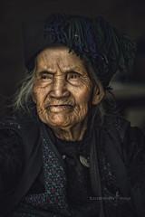 Hani Old Woman, China (TOONMAN_blchin) Tags: hanioldwoman china toonman