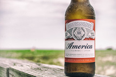 The Beer: America (Brendan.Illis) Tags: usa beach beer america island long flag lbi budweiser lbi2016