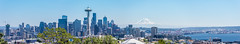 Seattle, Washington (Abhijit B Photos) Tags: seattle washington unitedstates us kerrypark downtown tallbuildings mountrainier panorama spaceneedle architecture skyline