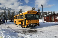2000 Bluebird RE7200 #14 (busdude) Tags: 2000 bluebird re7200 14 cascade school district 228 cascadeschooldistrict bus schoolbus leavenworth washington amtrak alki tours snow train alkitourssnowtrain amtk