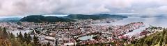 Bergen (Tuomo Lindfors) Tags: norja norway norge bergen flyen panorama topazlabs adjust dxo filmpack