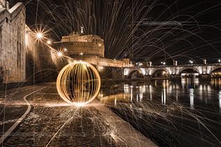 Fireball Castillo Sant'Angelo Roma Italy