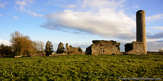 Tullaherin Monastic Site & Round Tower, County Kilkenny, Ireland