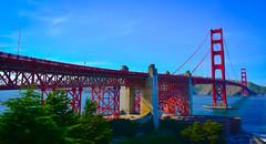Golden Gate Bridge - San Francisco CA (mbell1975) Tags: sanfrancisco california unitedstates us golden gate bridge san francisco ca usa calif cal america american sf goldengate water pacific ocean bay cove goldengatebridge bro brcke puente pont ponte brug bouwwerk most brig kpr bur hwy101 hwy 101 highway us101 hdr