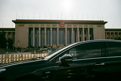 The Great Hall of People (sunnywinds*) Tags: beijing china black car street capital city       leica summilux political