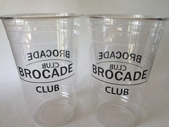 BROCADE CLUB cold (Majiscup - Encounter with Cups) Tags: brocade club cold papercup levisstadium santaclara