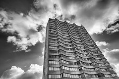 Arlington House (scarlet-pimp) Tags: margate england tower greatbritain arlingtonhouse architecture russelldiplockassociates kent brutalism thanet nikcollection silverefexpro2
