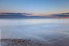 (Claire Hutton) Tags: friarscliff christchurch dorset hampshire uk sea coast beach water seaside groyne post pebbles stones rush foam clouds sunset pastel colours peaceful sonyrx100mkii compact le longexposure nd110 10stop 10stopper ndfilter srb