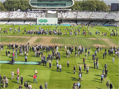 DM-38 Hallowed turf (Dominic@Caterham) Tags: lords cricket ground wicket spectators stands