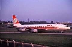 OD-ADV Boeing 707 1989 Birmingham (breedlux) Tags: boeing707 bhx