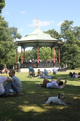 Music in Greenwich Park (EEPaul) Tags: greenwichpark greenwich bandstand music