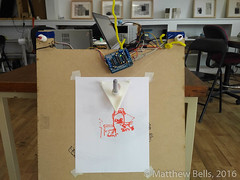 IMG_20160814_1425070 (mbells) Tags: 3dprint arduino drawbot kwartzlab makelangelo makerexpo lasercut make maker motor robot steppermotor