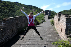 La Caru (pacientt) Tags: muralla solitud aventura maravilla china