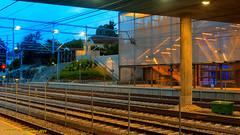 Hvik, Norway: Hvik commuter rail station with newly built platform access (nabobswims) Tags: commuterrail hdr highdynamicrange hvik lightroom no nsb nabob nabobswims norgesstatsbaner norway photomatix stog sonya6000 station train akershus