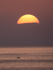 Another day ends to rest... (niko h.) Tags: samos sunset greece sea nature