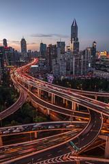 IMG_5892 (kevinho86) Tags: shanghai skyline canon eos6d colour city cityscapes  bridge longexposures lightshadow landmark 24mm urban art citylights   magichour