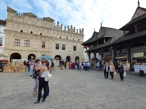 Kazimierz-Dolny - market square.