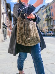 Marco Betti 2014 - URBAN BODY #2 W (marco.betti) Tags: woman humanfigure urbanbodies project finearts marcobetti viarepubblica parma italy people street
