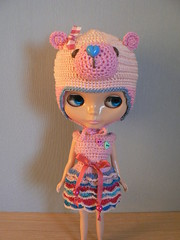 Blythe outfit made by me