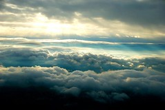 Flying above the clouds (Pixelglo Photography) Tags: above sky clouds plane flying abovetheclouds
