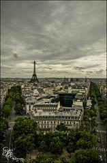 Paris, France - Explore #9 (Stuart-Saunders) Tags: paris france tower nikon eiffel arcdetriomphe
