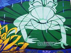 LE MARAIS | MU | 2011 (MUmtl) Tags: streetart mural montreal mu roadsworth artpublic verdun lemarais murale arturbain petergibson phillippeallard