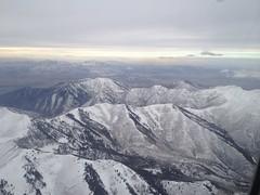 Mountains over Salt Lake City