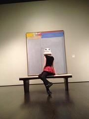 RedandJonny: LACMA (RedandJonny) Tags: art star gallery helmet stormtrooper wars lacma redandjonny stormtroopersinlove inagalleryfarfaraway