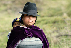 latin woman in national clothes with little child (MicahLong) Tags: travel portrait people woman baby mountains peru southamerica face hat inca scarf hair nose beads kid ecuador eyes child indian cusco traditional violet culture ears bolivia clothes cap national latin andes civilization latino latina ethnic andean incas incan quechua femal