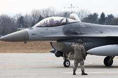 158th Fighter Wing Green Mountain Boys General Dynamics F-16C Fighting Falcon (Patcard) Tags: burlington vermont guard btv greenmountainboys 158th airportwatch iawa 158thfighterwing vermontairnationalguard veilleursaeroportuaire 86321 internationalairportwatchassociation