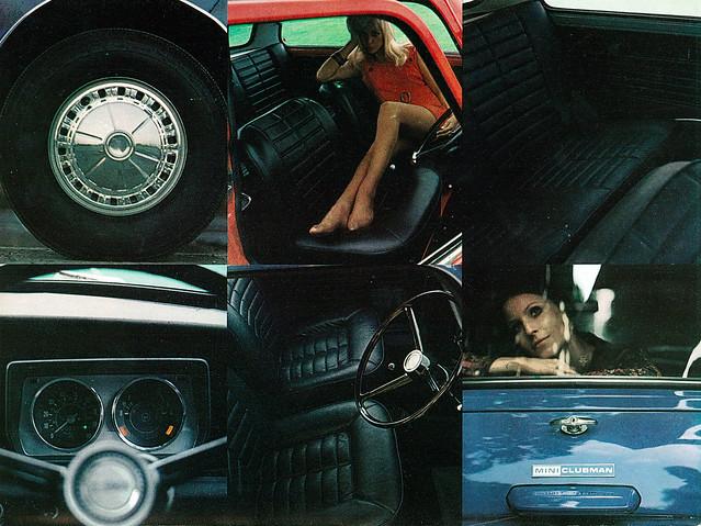 1970 miniclubman miniburochure