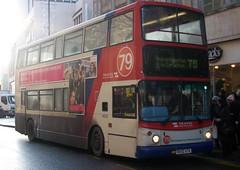 Travel West Midlands Dennis Trident 2/Alexander ALX400 4323 (BX02 ATK) (john-s-91) Tags: birmingham route79 travelwestmidlands 4323 alexanderalx400 dennistrident2 bx02atk tmobile£10