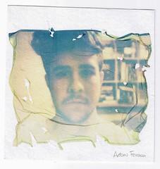 Autoritratto (Antonio Ferraroni) Tags: boy selfportrait project polaroid lift autoritratto inverno impossible ragazzo emulsion cartoncino