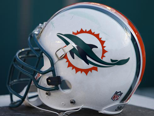 miami dolphins new logo on helmet mock up � but at the end