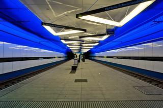 new lights & colors @ station Schörlistrasse Zurich