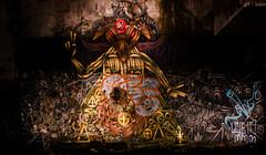 El Diablo (lostsoulx80x) Tags: longexposure lightpainting art abandoned graffiti scotland decay evil urbanexploration urbex cardross stpetersseminary blackmagic devilworship argylebute canon450d