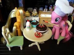 Pony Christmas prep 2 (bbqweasel) Tags: christmas g4 pony mlp sylvanianfamilies