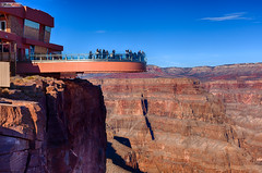 Grand Canyon Skywalk (Ton Trn) Tags: arizona canon grandcanyon bluesky rockformation beautifulscene grandcanyonskywalk canon5dmarkii