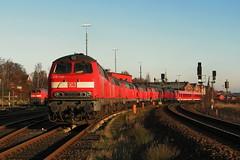 IMG_0001 (Lumixfan68) Tags: eisenbahn db lbeck bahn deutsche regio 218 baureihe dieselloks
