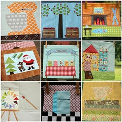 cocorico Bee 2011-2012 (Erin @ Why Not Sew? Quilts) Tags: paper quilt bee blocks pieced cocoico