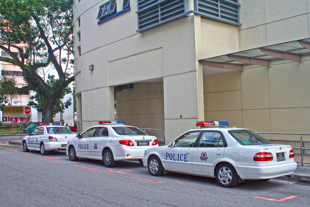Singapore Police cars by vetaturfumare - thanks for 1 MILLION views!!!, on Flickr