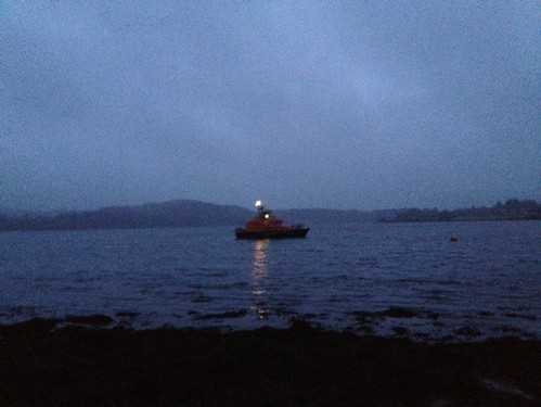 Oban Lifeboat Jan 2013