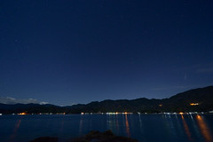 (SYU*2) Tags: blue light sea sky nature japan night landscape photography star nikon  d800   1424 nikoor  1424mm