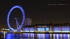 London Eye & County Hall - London (Craig Pitchers) Tags: night aquarium nikon europe londoneye ferriswheel 2470mm countyhalll nikon2470mmf28 d7000 nikond7000