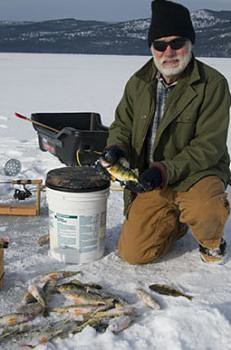 John catch of perch