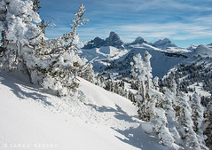Boundaries (James Neeley) Tags: landscape grandtetons tetons winterlandscape grandtarghee jamesneeley b2013
