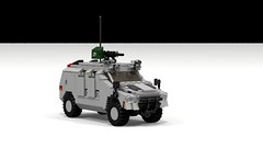 LWC (Quogg) Tags: truck lego jeep military vehicle ldd multirole